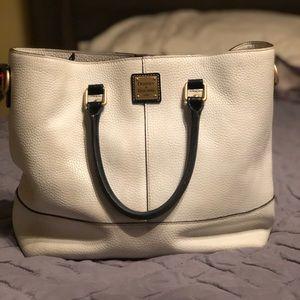 Dooney and Bourke True White handbag